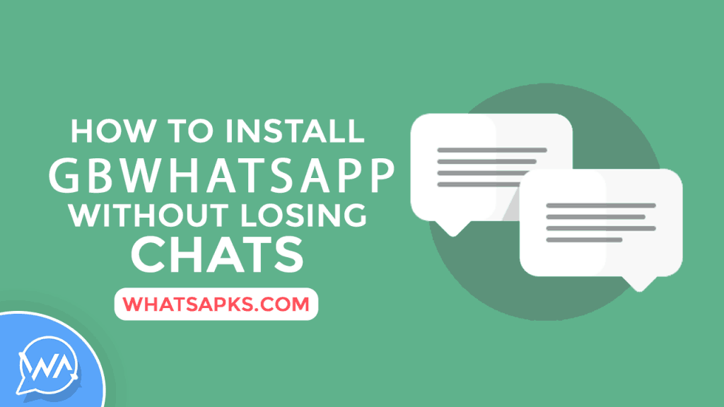 How to Install GBWhatsApp without losing Chats | Backup 1