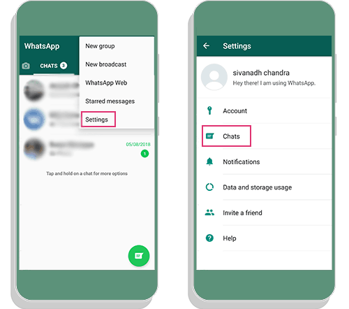 How to Install GBWhatsApp without losing Chats | Backup 2
