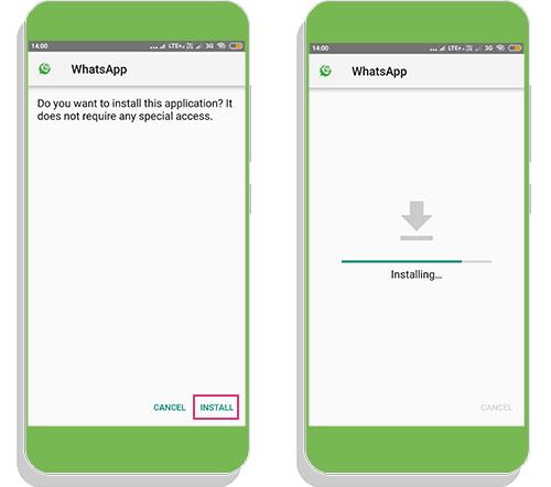 rawhatsapp ios apk install