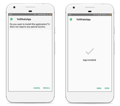 install adwhatsapp apk on android